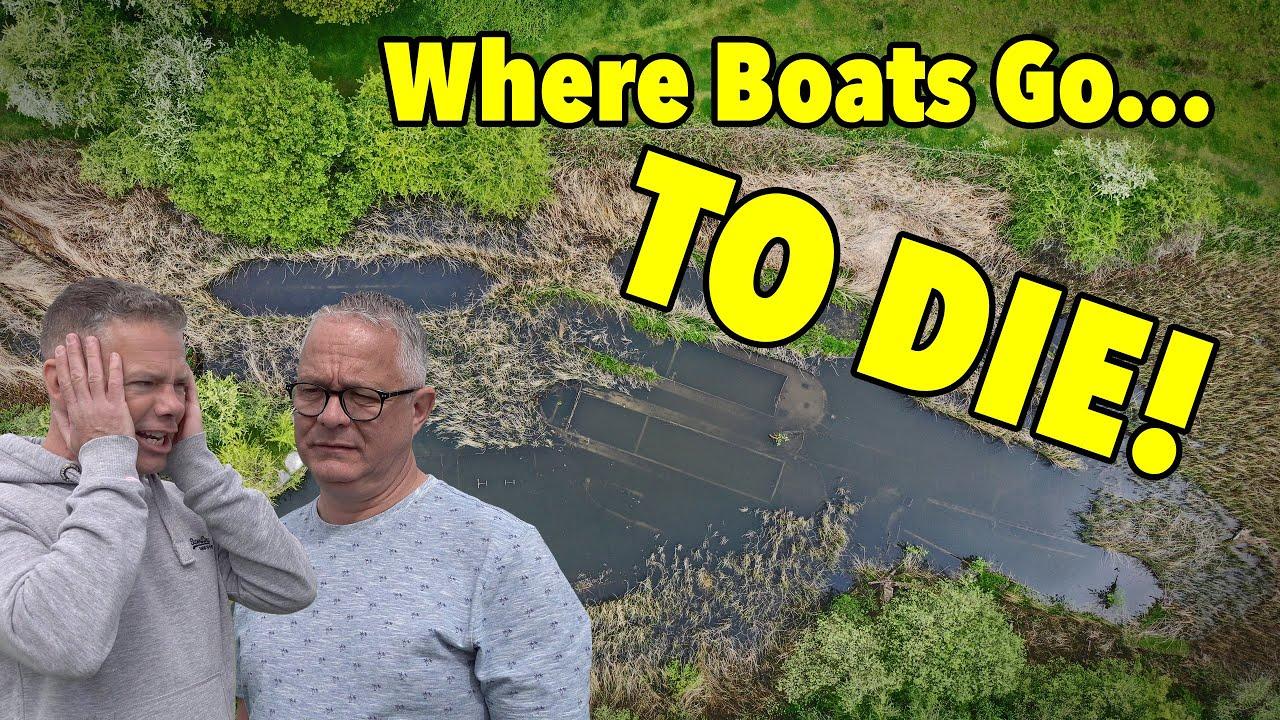 The SECRET Boat Graveyard!