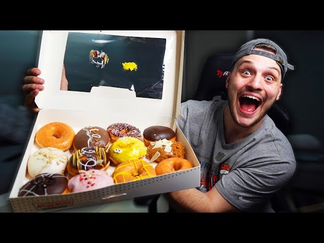 If You Laugh You Eat A Krispy Kreme (gains weight)