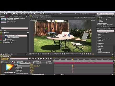 Adobe After Effects CS6 : Réflexion d'un calque d'environnement