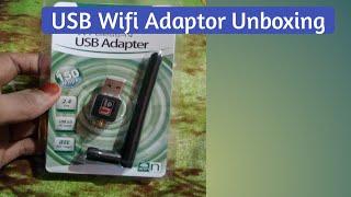 WiFi Adaptor Unboxing (802.11b)