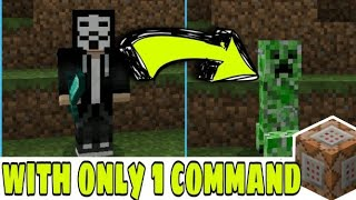 How to turn into any MOB in Minecraft (No Mods, No Addons and No Downloads)