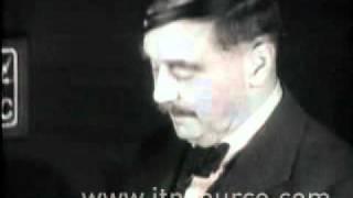 A speech by H G Wells