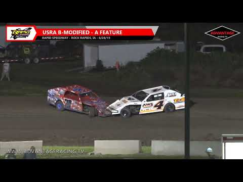 B-Modified Feature - Rapid Speedway - 6/28/19