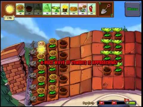 Popcorn Party Achievement Plants vs. Zombies GOTYE - YouTube