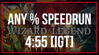 Wizard of Legend | Any% Speedrun World Record in 4:55 IGT