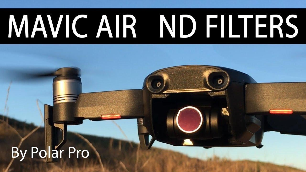 Dji Mavic Air Nd Filters By Polar Pro Youtube
