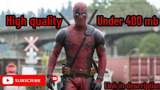 how to download deadpool movie dubbed in hindi BY MARVEL MOVIES CLIP