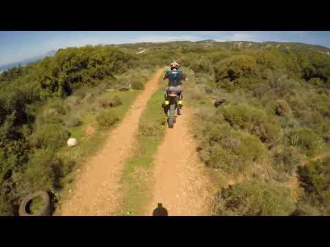 Didaxos TrailMaster~Downhill at MOMA Patras {Hardtail vs KTM Motocross}