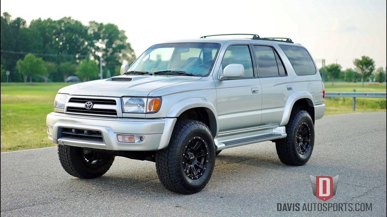 Lifted 4Runner For Sale >> Davis AutoSports TOYOTA 4RUNNER SPORT / ALL NEW PARTS ...