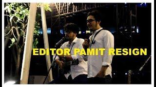 Bikin Haru, Lagu Perpisahan Ini di Nyanyikan Editor NET. saat Pamit Resign