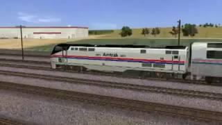 Trainz 12 Real Amtrak Trains, Part 2