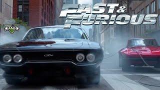РУССКИЙ ФОРСАЖ 8: АЛЬТЕРНАТИВНЫЙ СЮЖЕТ (GTA 5 Mods) / Fast & Furious 8