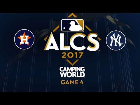 Four-run 8th lifts Yankees in comeback win: 10/17/17