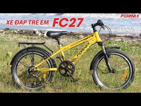 Đánh giá xe đạp trẻ em Fornix FC27