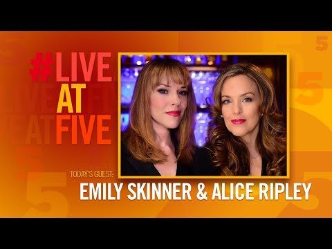 Broadway.com #LiveatFive with Emily Skinner and Alice Ripley