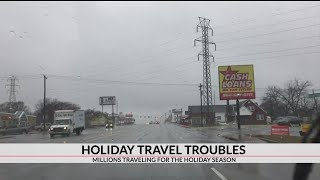 AAA says Saturday marks the official starts to the year-end holiday...