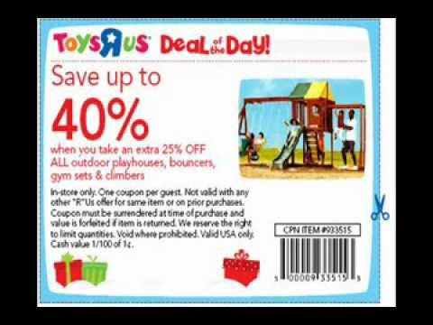 Toys R Us Coupons October 2012 - The Latest Toys R Us Coupons October 2012