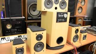 Genius SW-HF 5.1 Home Cinema Theater subwoofer woofer bass speaker multichannel amplifier Verstärker