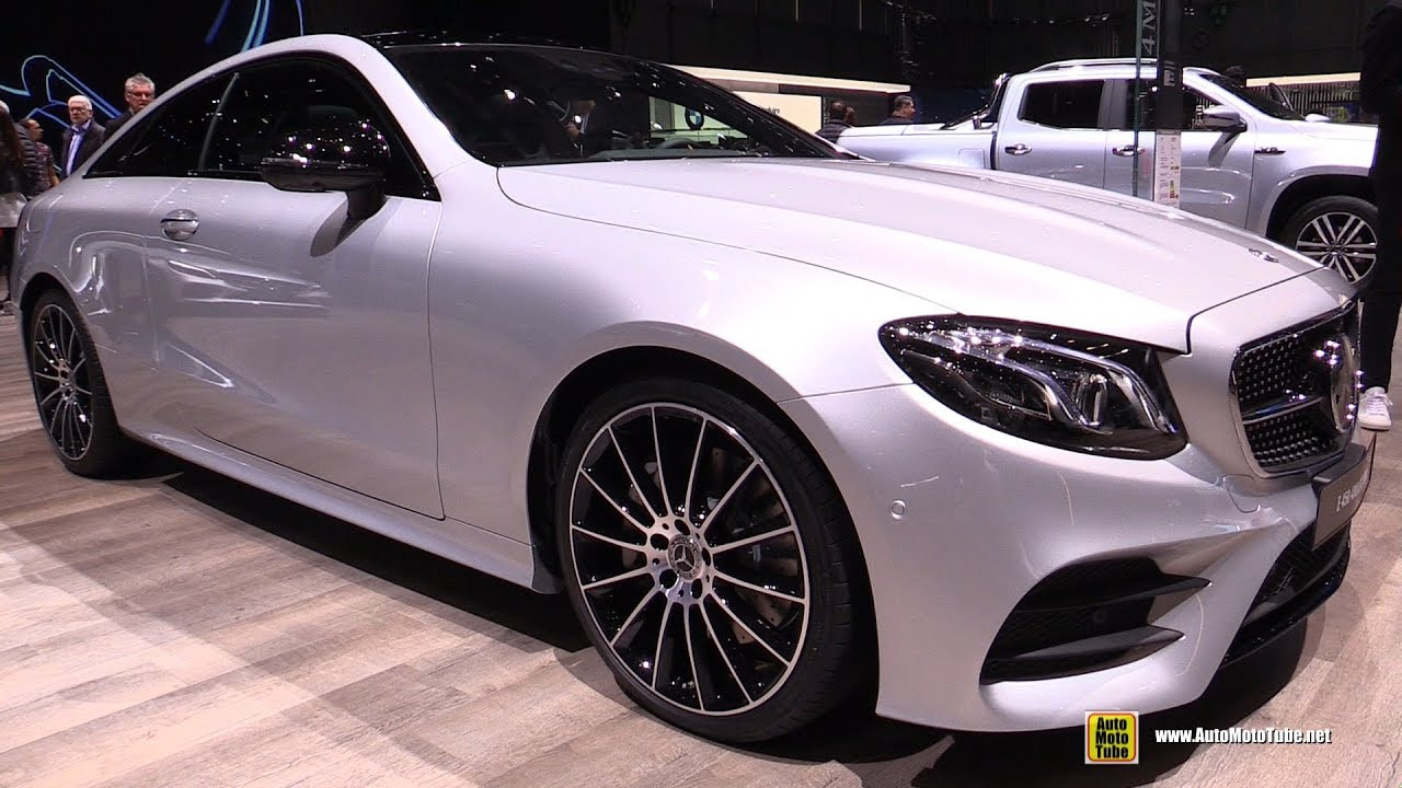 2019 mercedes e450 4matic coupe - exterior and interior walkaround