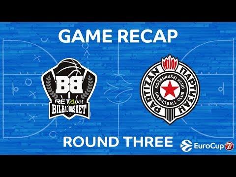 Highlights: Retabet Bilbao Basket - Partizan Nis Belgrade