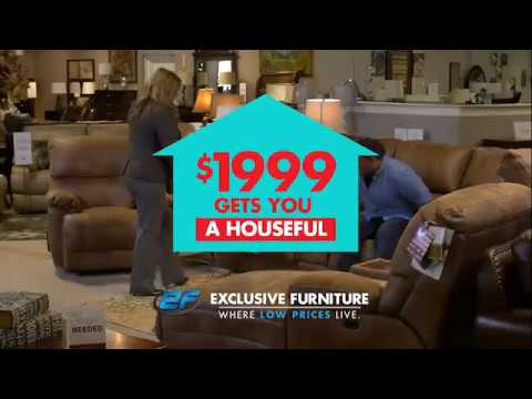 Exclusive Furniture 3 Rooms For 1 999