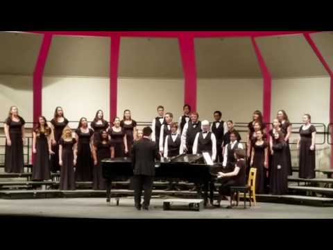 Whitmore Charter High School Choir at the 2016 Stanislaus County Fall Sing