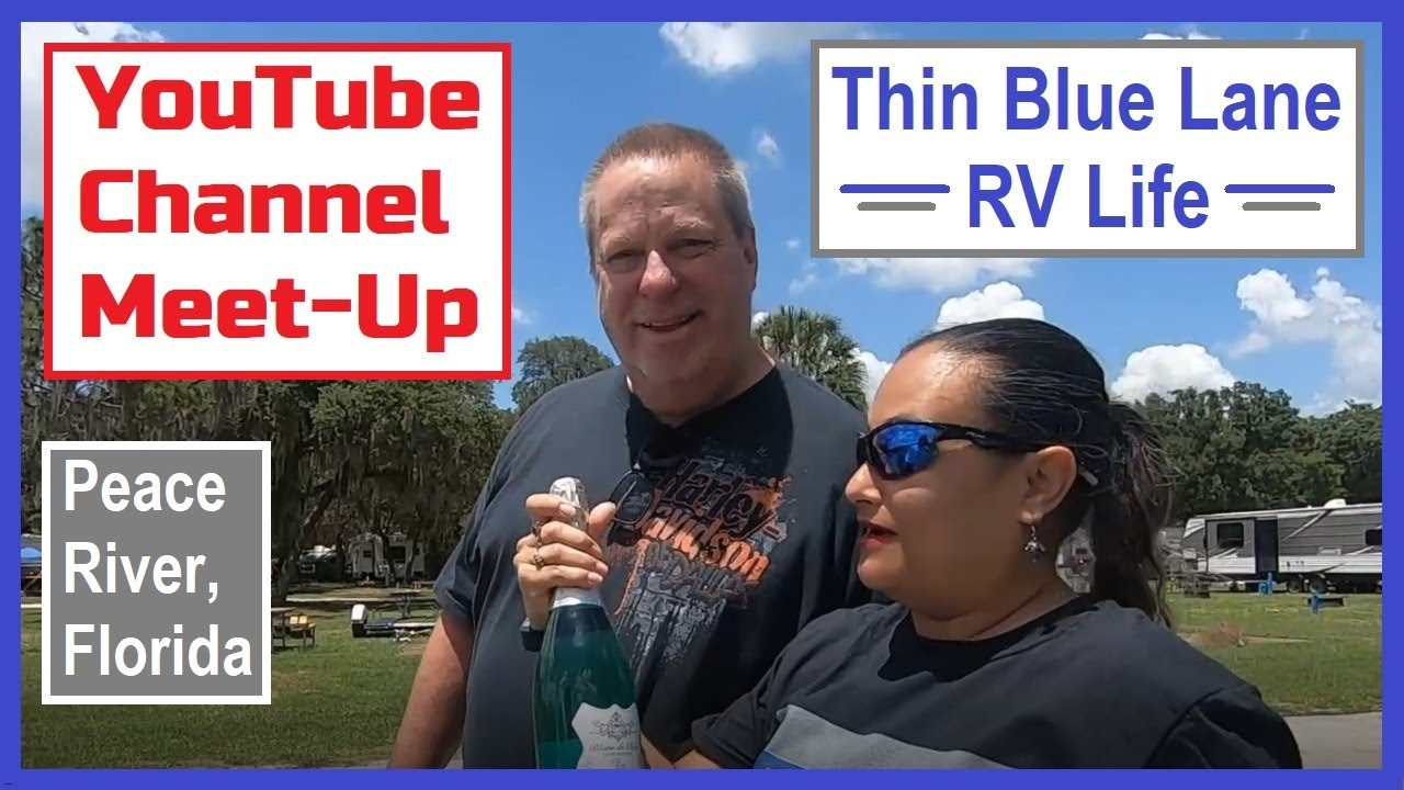 YouTube Channel Meet-Up: BluWave Odyssey & Thin Blue Lane RV Life. (RV Living)