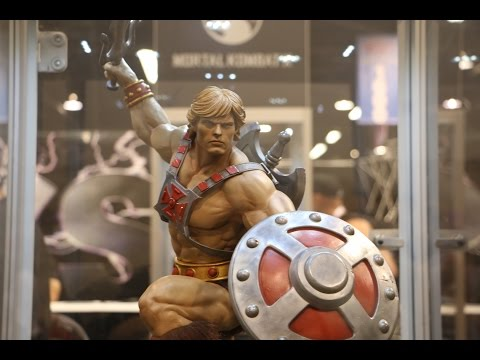 He-Man Statue from Pop Culture Shock @WonderCon