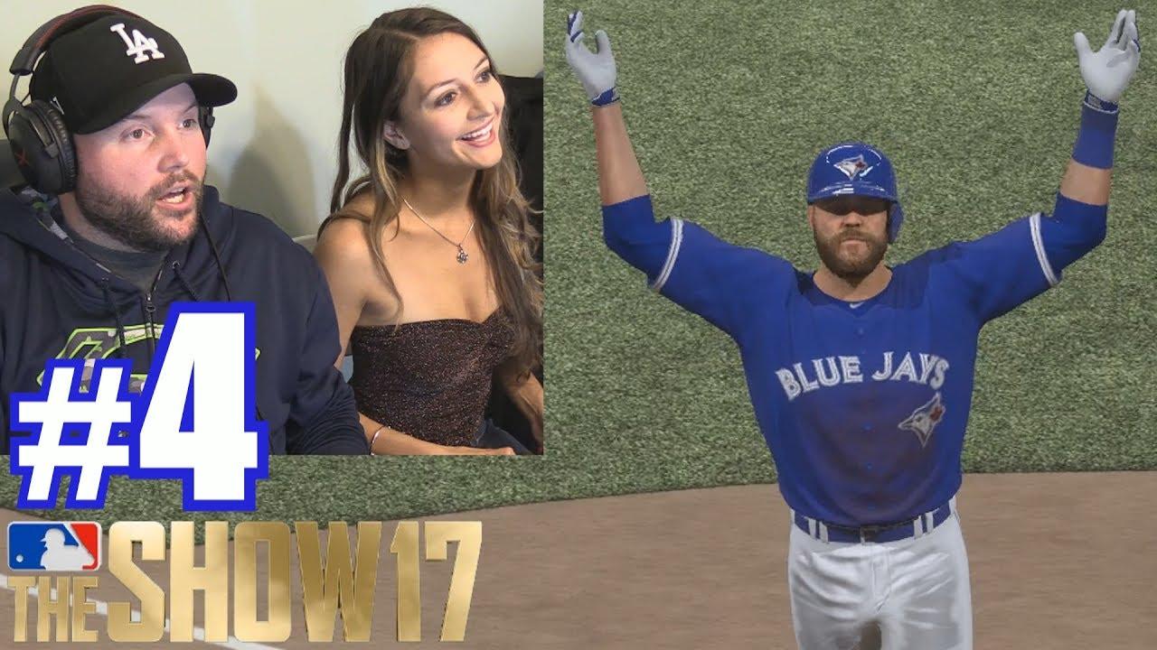 PLAYING LAUREN! | MLB The Show 17 | Retro Mode #4 - YouTube