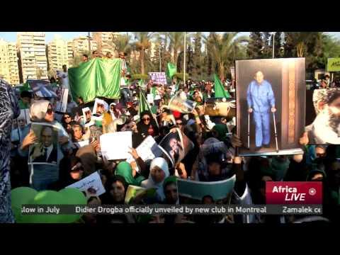 Libyans protest Saif Al-Islam Gaddafi's verdict