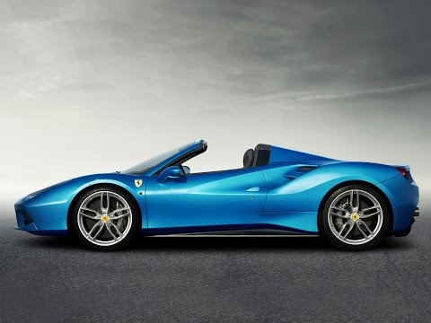 Ferrari présente la 488 Spider