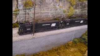 The Penn Central in HO scale