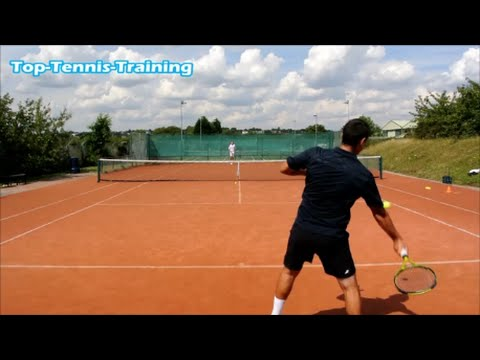 Tennis Drills | Baseline Change Of Direction Drill