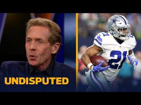 Skip Bayless reacts to Ezekiel Elliott suspension | UNDISPUTED