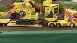 RC CONSTRUCTION MACHINES, rc machines at work