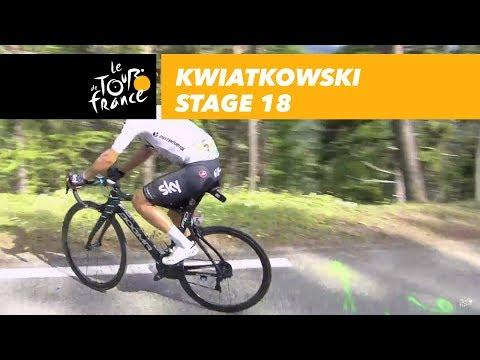Kwiatkowski stops - Stage 18 - Tour de France 2017