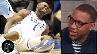 Zion should snub Nike and start 'a shoe war' if he plays for Duke again - Tracy McGrady | The Jump