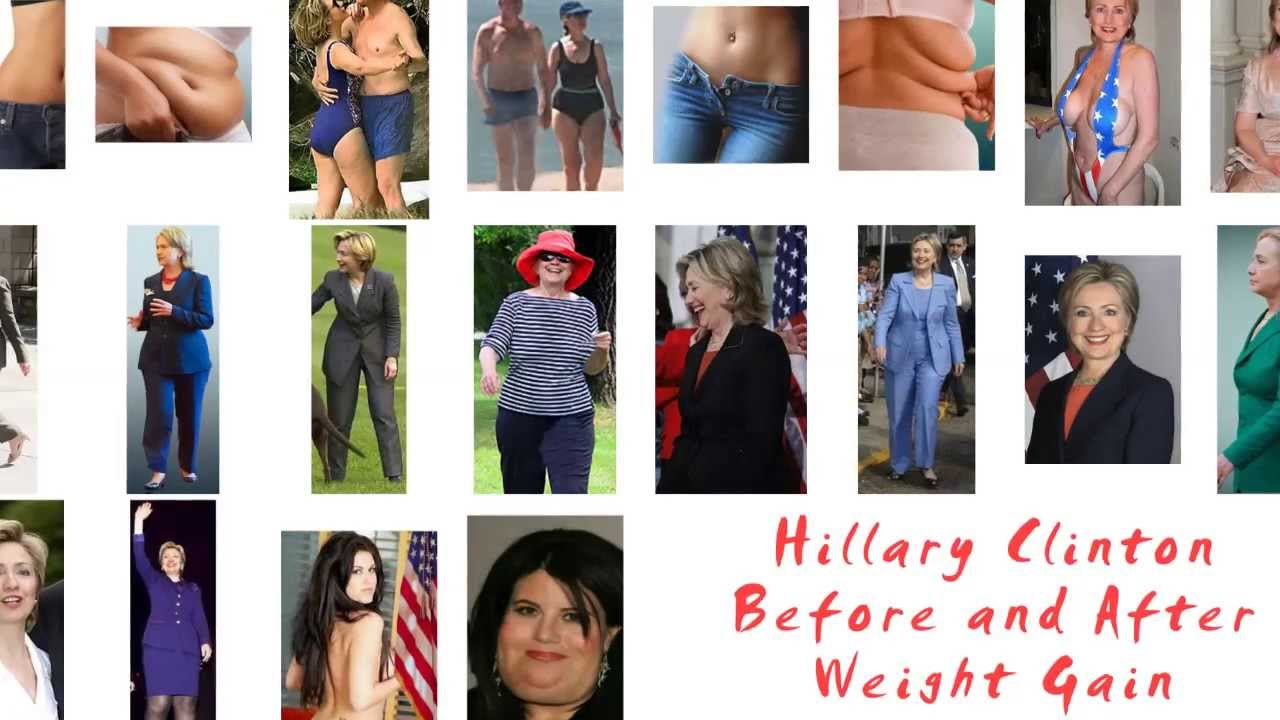 Hillary Clinton Before And After Weight Gain With Tyra