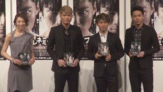 人気グループ・EXILEのパフォーマーNAOTOとSHOKICHIが、都内で行われた...