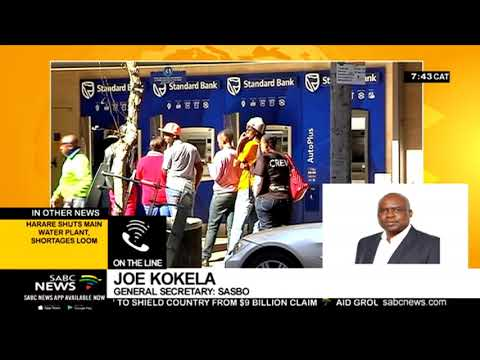SASBO's banking sector national strike on Friday: Joe Kokela