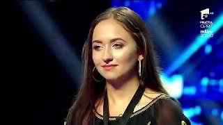 """Valeria Marcu.""""Lie, ciocârlie"""" Vezi cum cântă, la saxofon, la X Factor Romania"""