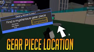 THE MYSTERIOUS GEAR PIECE LOCATION!! | HEROES ONLINE | ROBLOX