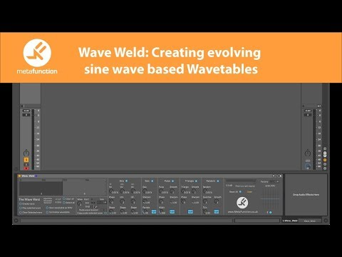 The Wavetable Synthesis Architecture - Meta Function