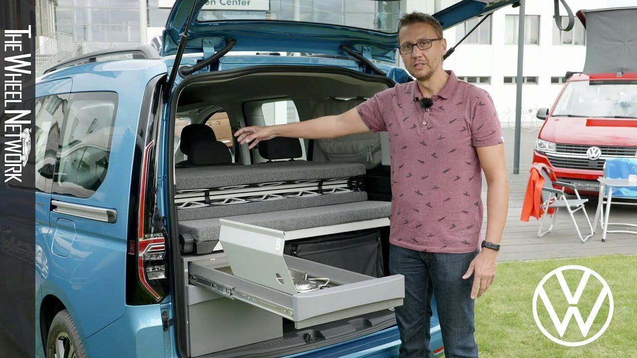 2021 Volkswagen Caddy California Walkaround - YouTube