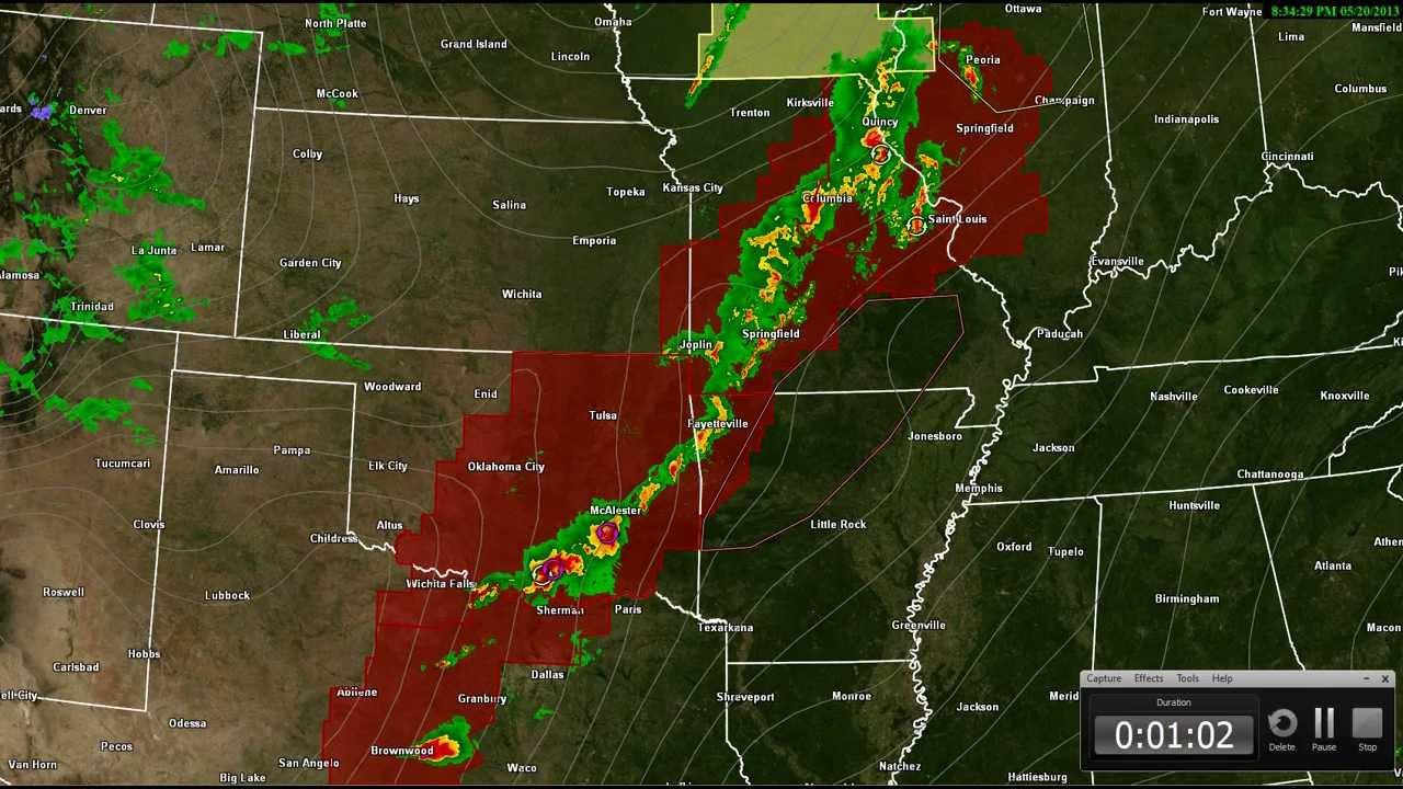 Severe Storm Radar Loops  Regional Radar Warnings - Us weather radar map loop