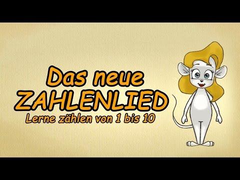 Zählen lernen deutsch   Das neue ZAHLEN-LIED   Zahlen lernen   123-Lied   numbers song german