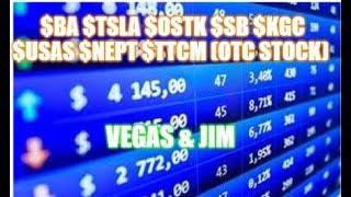 Vegas & Jim Wall Street Report CVNA MTNB AVGR TLRA SPY