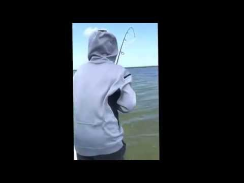 Mosquito lagoon fishing with tug of war charters