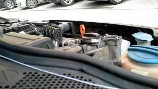 Звук двигателя Polo Sedan CFNA, холодный запуск, шум цепи ГРМ. Пробег 200 000 +