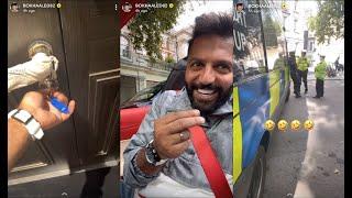 سنابات يعقوب بوشهري في لندن يفاجئ زوجته فاطمة الأنصاري ويشتري لها شقة